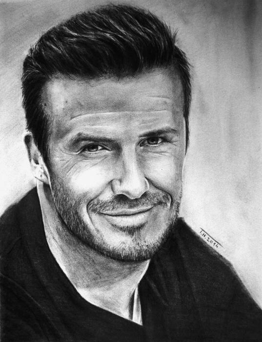 David Beckham by tiash1997